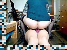 wife fucks her husband with her strapon
